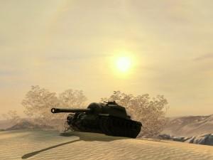 Превая пустнынная карта World of Tanks Blitz «Эль-Аламейн»
