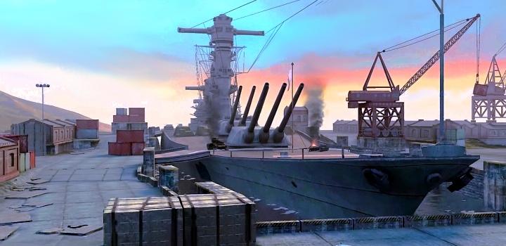 """World of Tanks Blitz - """"Восточная гавань"""""""